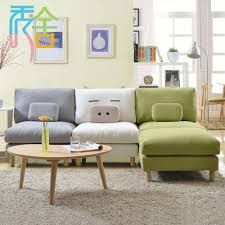 living room show homes sofa korean small apartment around the