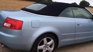 audi 4 door convertible 2004 audi a4 b6 cabriolet convertible 2 4 engine video review