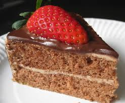 blessed homemaker strawberry chocolate cake