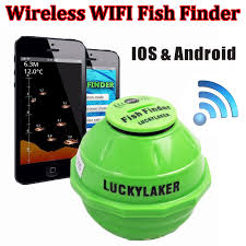 free finder free shipping lucky ff916 sonar wireless wifi fish finder 50m