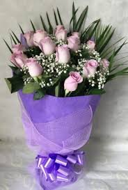 purple roses purple magical bouquet for gift delivery in dubai