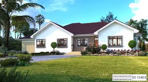 bedroom bungalow with garage id 13403 house plans by maramani