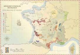 Map Of France And Surrounding Countries by French Wine Regions Maps Hand Crafted Illustration Cellartours
