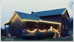 Outdoor Christmas Decorations For Roof by Christmas Outdoor Decorations