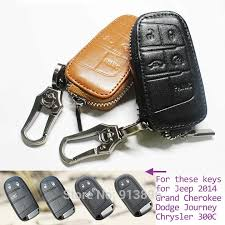 jeep key wholesale leather car key fob cover for jeep 2014 grand