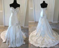 wedding dress with bling bling designers mermaid wedding dresses 9024