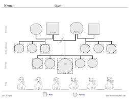 8 best images of simple therapy genogram 3 generation genogram