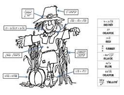 radicals review scarecrow coloring sheet corinne beasler tpt