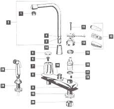 Leaky Kitchen Faucet Kitchen Sink Faucet Repair 100 Images Kitchen Kohler Kitchen