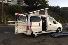 nissan nv200 nissan nv200 recon camper van review