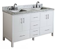 Bathroom Vanities 60 by California 60 Inch Double Bathroom Vanity Carrara White