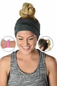 women s headbands headbands made from moisture wicking microfiber