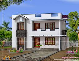 Home House Plans Simple Modern Home Design In 1817 Square Feet Indian House Plans