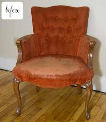 Chair Upholstery Before U0026 After Sarah U0027s Chair U2013 Design Sponge