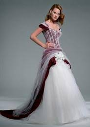 wedding dresses with color plus size wedding dresses with color accents naf dresses