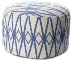 navy crochet pouf ottoman floor pouf chair nautical nursery