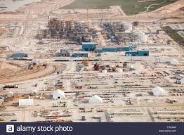 Fort Mcmurray Alberta Canada Map by A Brand New Tar Sands Plant Being Constructed North Of Fort