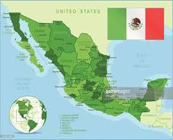 Guadalajara Mexico Map by Mexico Green Highly Detailed Map Vector Art Getty Images