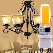 Spotlight Chandelier 5pcs Lot G9 3w 220 240v Cob Led Dimming L Bulb Replace Halogen