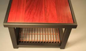 Custom Coffee Table Made By TerraSteel In Bend Oregon - Bend furniture