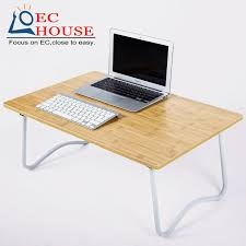 Small Folding Desks The Notebook Comter On Bed With Simple Small Lazy Table Folding