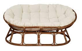 canap lounge mamasan lounge canapé naturel blanc cassé h 170 x larg 110 x
