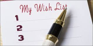 how to create and better manage wish lists