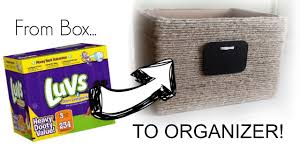 Nailed It Desk Organizer by From Box To Organizer Diy Woven Basket Youtube