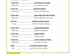 4th grade spanish foreign language worksheets u0026 free printables