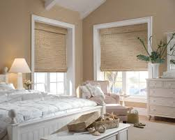 White Wood Blinds Bedroom Hunter Douglas Woven Wood Blinds By Danmer Of California