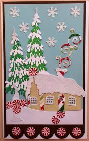 charmingly creative winter cottage dee u0027s distinctively dies
