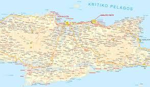Crete Map Heraklion Info
