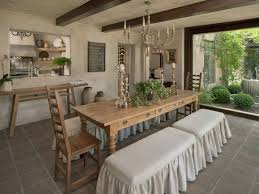 country dining room with exposed beam u0026 chandelier zillow digs