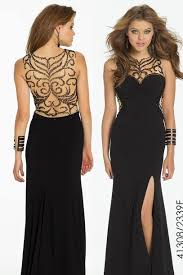 black and gold dress dress black and gold dress prom dress wheretoget
