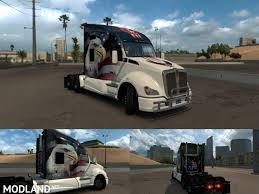 kenworth k200 usa u s a eagle truck skin for kenworth t680 mod for american truck