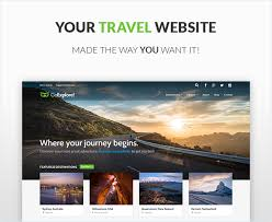 wordpress templates for websites travel wordpress theme goexplore by parallelus themeforest