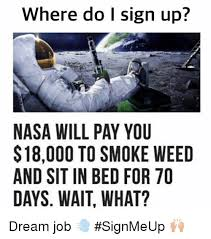 Nasa 70 Days In Bed Where Do L Sign Up Nasa Will Pay You 18000 To Smoke Weed And Sit