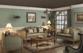 classic living room brown furniture luxury home design