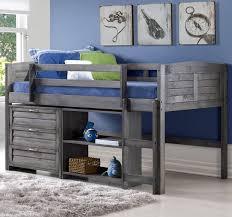 South Shore Imagine Loft Bed Evan Twin Low Loft Bed With Storage U0026 Reviews Birch Lane