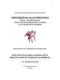 guía presentación trabajos monográficos