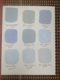 hand painted benjamin moore grey interior paint samples these grey