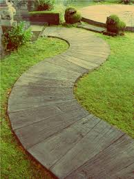 Concrete Driveway Paver Molds by Walkway Can Be Made In Concrete Wood Pavers Out Back From Pool