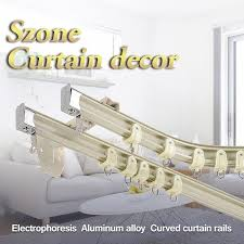 Ceiling Mounted Curtain Track System Benable I Beam Wall Mounted Aluminum Curtain Track Set Ceiling