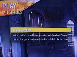 pubg voice chat not working chris bratt on twitter i m not sure a patch will fix that one