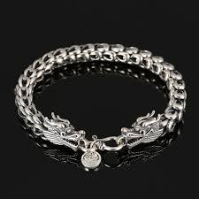 dragon bracelet jewelry images V ya punk men jewelry dragon bracelets 100 thai silver bracelets jpg