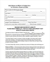 100 waiver of liability and hold harmless agreement template