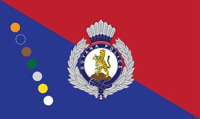 Guyana Flag File Guyana Police Force Flag Hq Png Wikimedia Commons