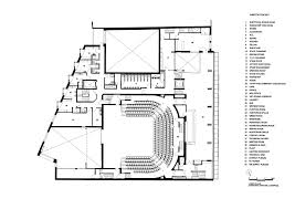 chicago theater floor plan everyman theatre haworth tompkins archdaily