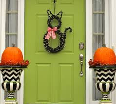 How To Make Halloween Door Decorations
