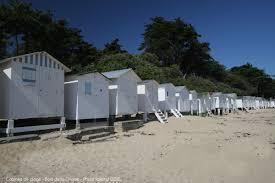 cabine de plage bois camping noirmoutier le petit beauregard